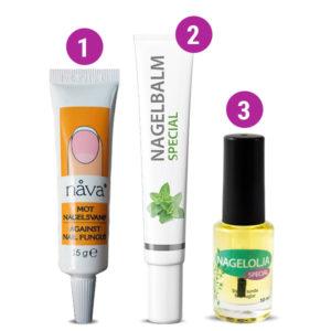 Hjälp mot nagelsvamp börja med Nåva