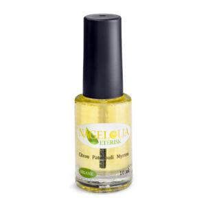 Eterisk nagelolja med citron, patoliouli och myrten